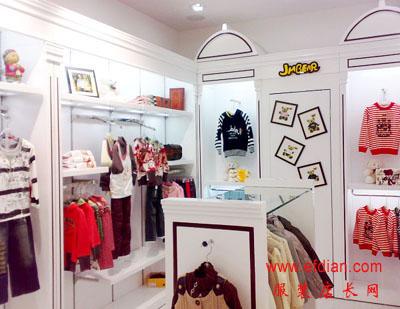 杰米熊jmbear童装门头图片品牌服装店门头设计【开店装修技巧】