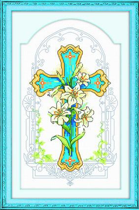 十字架 二【十字绣图案大全】