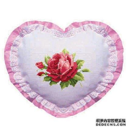 娇艳玫瑰【十字绣图案大全】