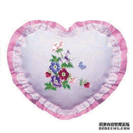 蝴蝶与花b【十字绣图案大全】