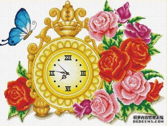 玫瑰花语(二)【十字绣图案大全】