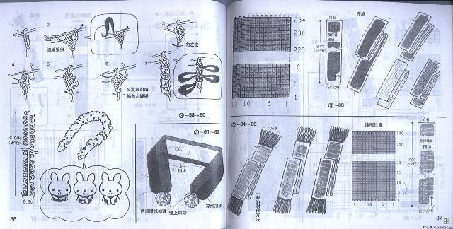 围巾的织法_围巾的编织方法_怎么织围巾【围巾织法大全】