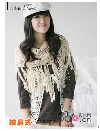 淘宝网围巾与围巾的系法图解和围巾的各种围法(四)【围巾的围法大全】