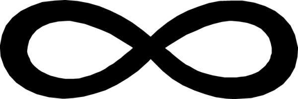 qqfh最新符号大图:无限大【2011最新符号大全】